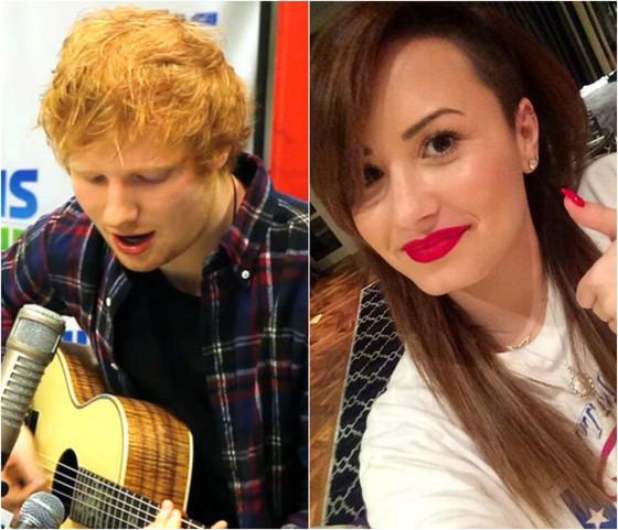 Ed Sheeran, Demi Lovato