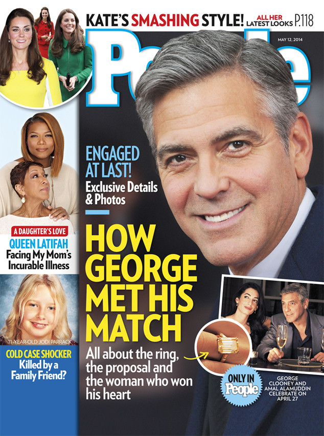 George Clooney, Amal Alamuddin, People