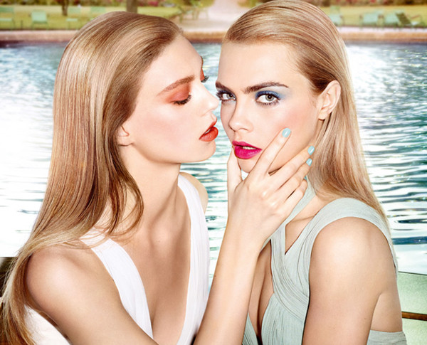 Cara Delevingne looks flawless as the face of YSLs