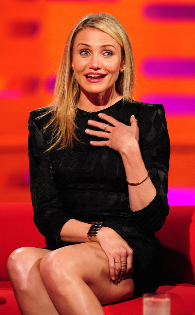 Cameron Diaz, The Graham Norton Show