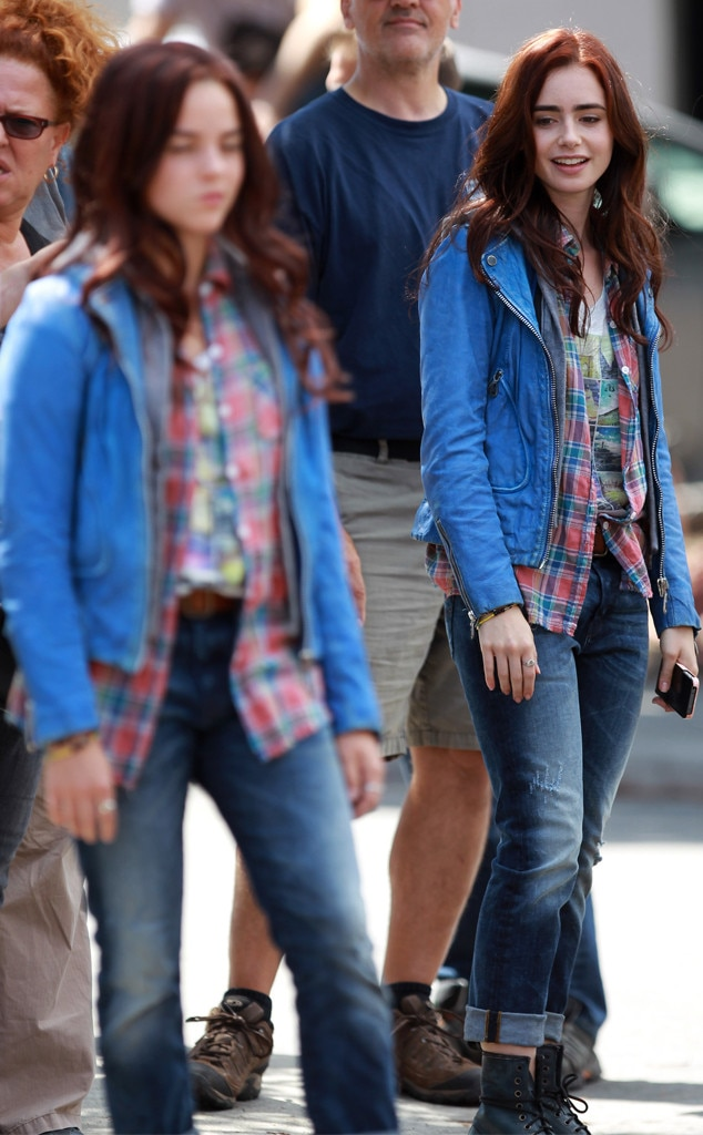 Lily Collins, Stunt Doubles
