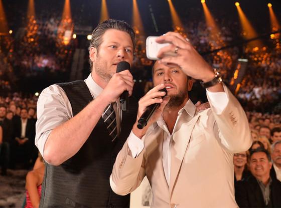 Blake Shelton, Luke Bryan, ACM Awards 2014