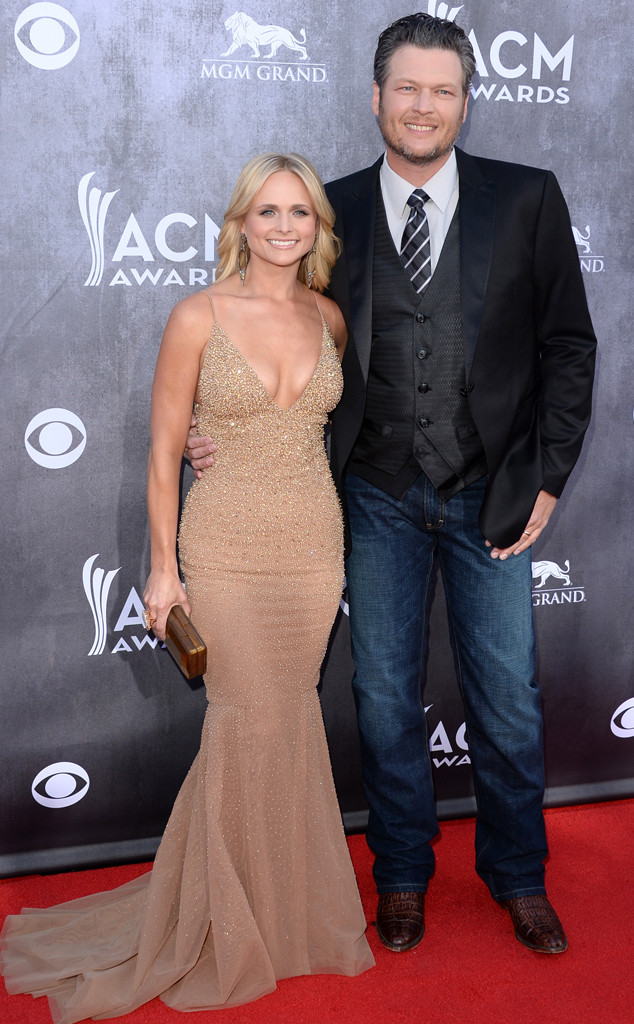 Blake Shelton, Miranda Lambert, ACM Awards 2014