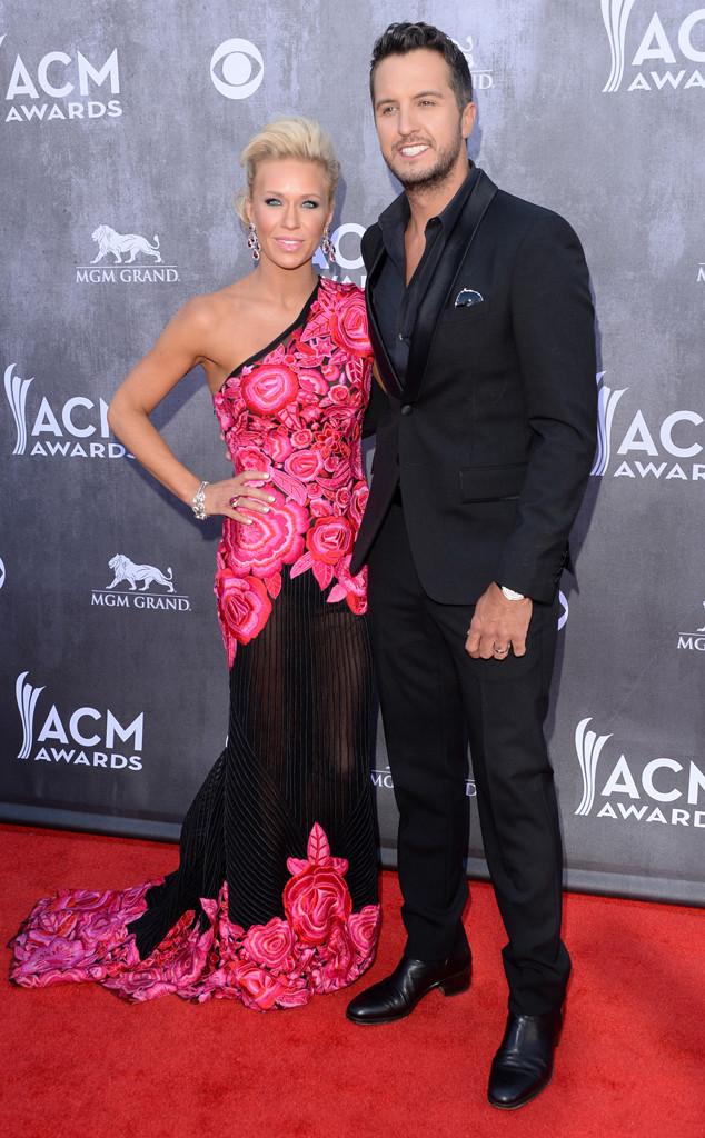 Caroline Bryan, Luke Bryan, ACM Awards 2014