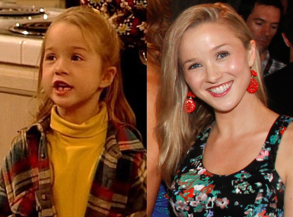 Lily Nicksay Gibson as Morgan 1 -  When  Boy Meets World  first premiered, fans met Eric and Cory's younger sister, Morgan, a pint-size blonde with a knack for bugging her older brothers. Although this first actress was later replaced,  Lily Nicksay Gibson did the honors of playing Morgan from 1993 to 1995.