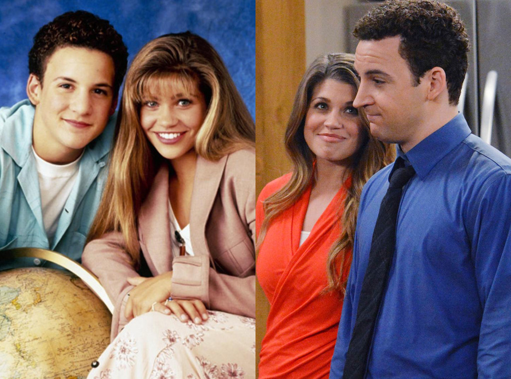 Ben Savage, Danielle Fishel, Boy Meets World, Girl Meets World, 1998, 2014