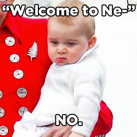 Príncipe George filho Kate Middleton foto vira meme