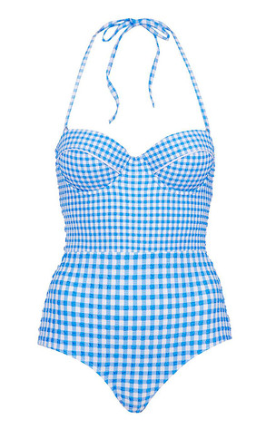 Harley Coachella, Topshop Gingham One Piece