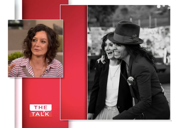 Sara Gilbert, The Talk