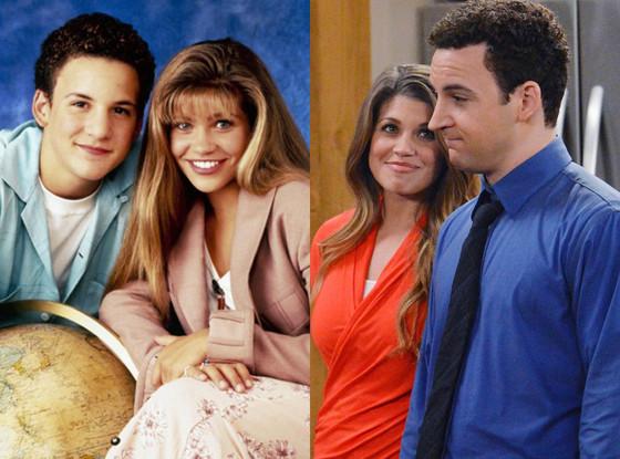 Ben Savage, Danielle Fishel, Boy Meets World, Girl Meets World, 1998, 2014