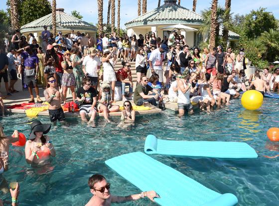 Harley Coachella, Party