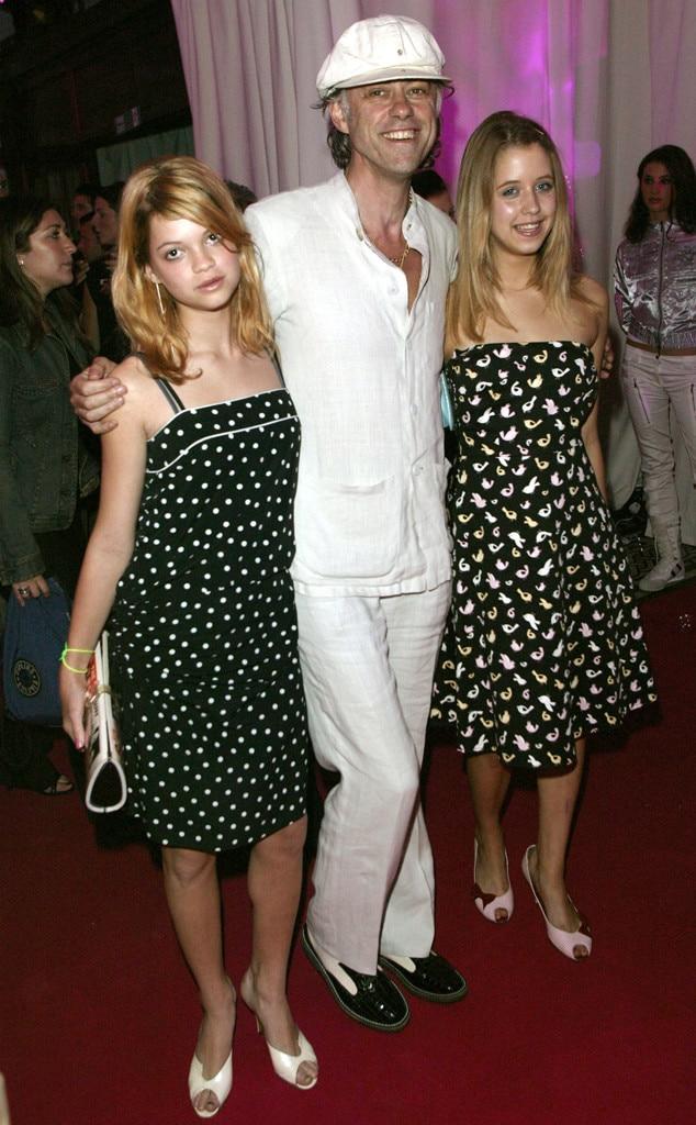 Bob Geldof, Pixie Geldof, Peaches Geldof