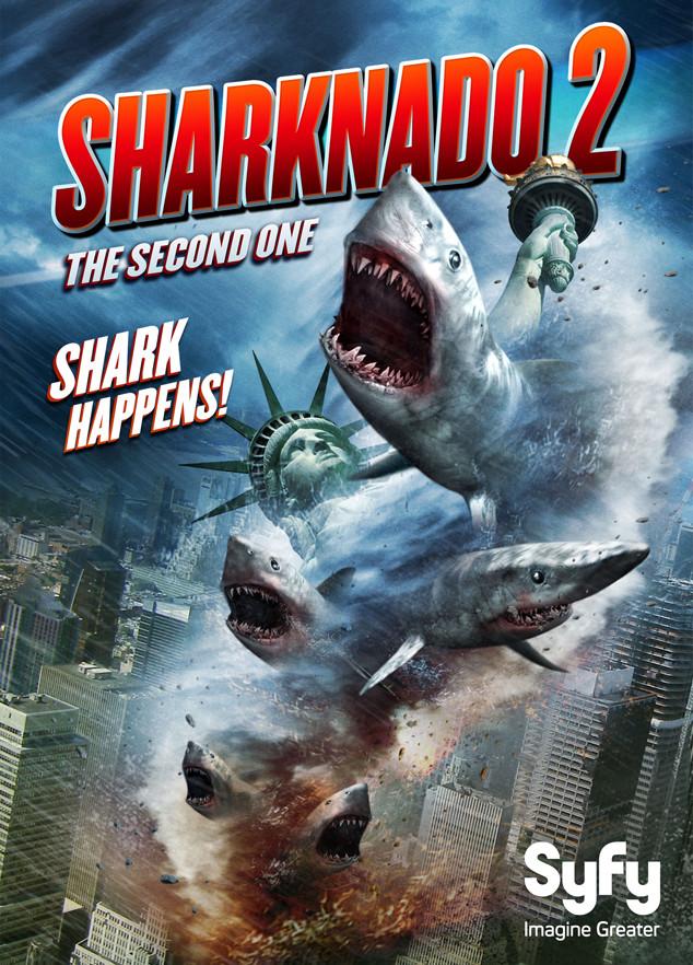 SHARKNADO 2, Shark Movies