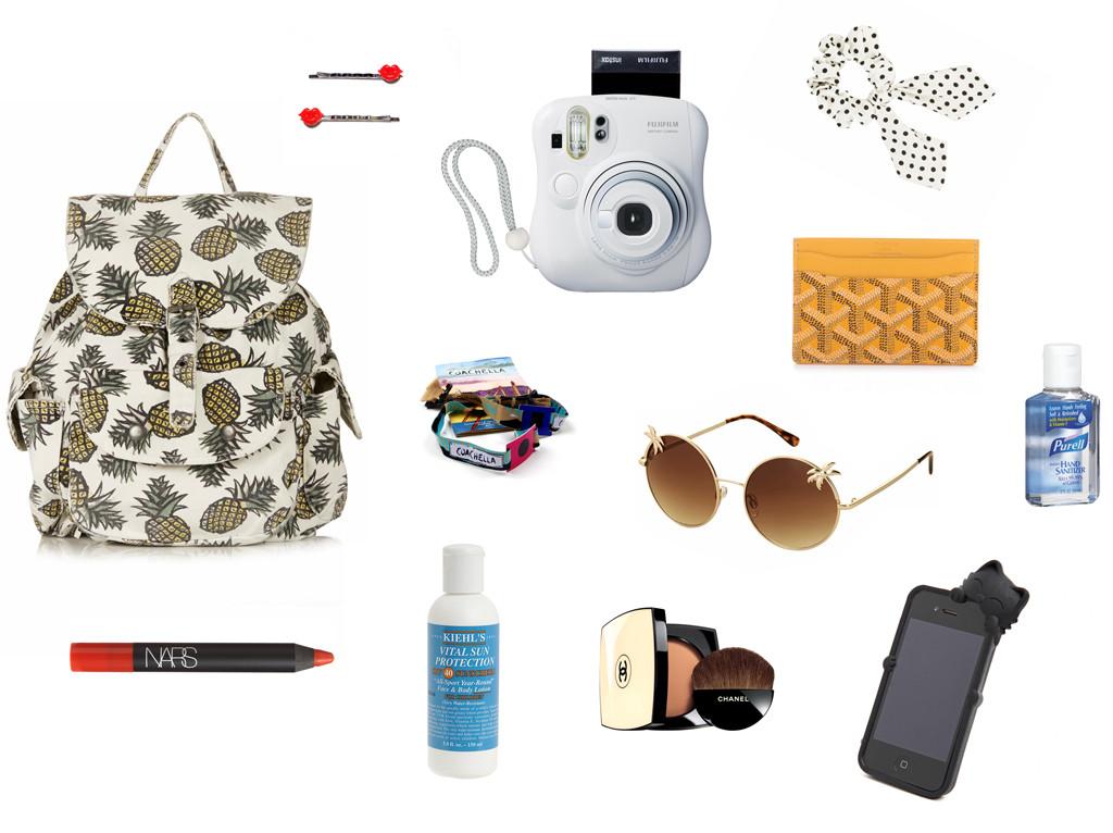 What's in my Bag, Harley Coachella