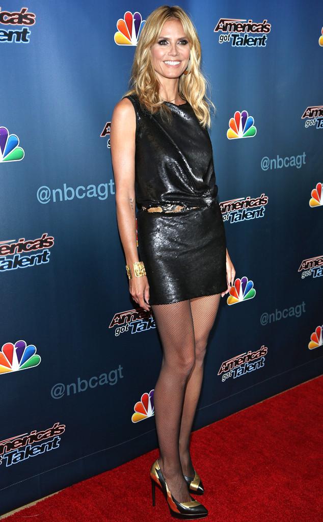 Heidi Klums Bra Was Stolen By A Magician  E News-8282