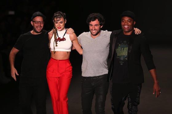 Thaila Ayala, Anderson Silva, Yasmin Brunet, Auslander, Fashion Rio