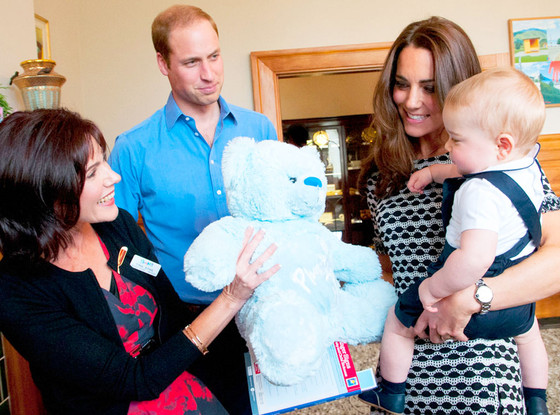 Prince William, Duchess Catherine, Kate Middleton, Prince George