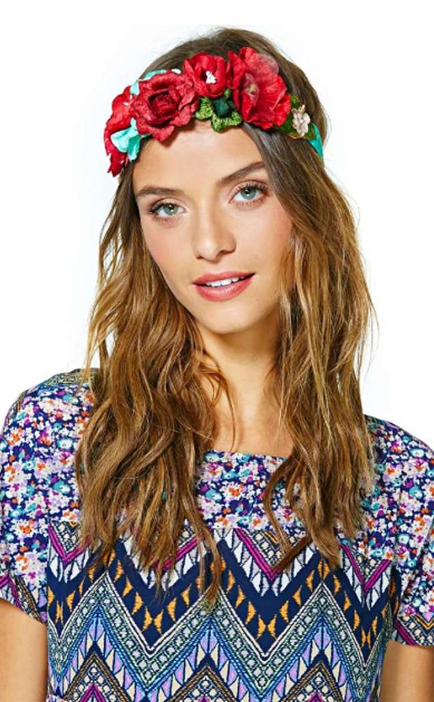 Garden Party Floral Crown, Flower Crowns