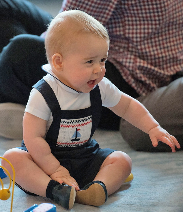 Prince George Tops Blue Ivy And North West As Most Stylish