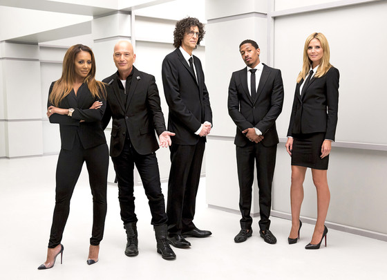 America's Got Talent, Mel B, Howie Mandel, Howard Stern, Nick Cannon, Heidi Klum