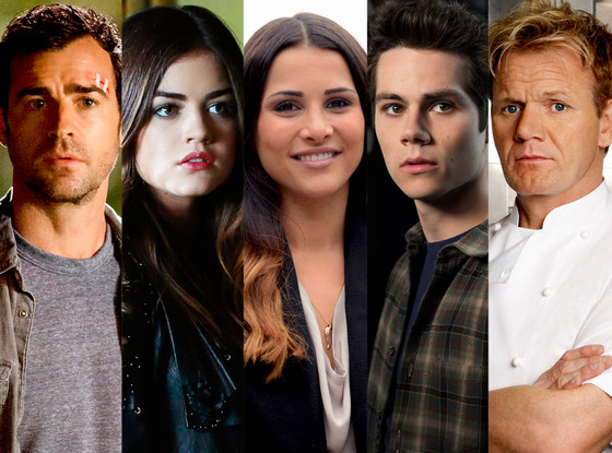 Gordon Ramsay, Lucy Hale, Justin Theroux, Andi Dorfman, Dylan O'Brien