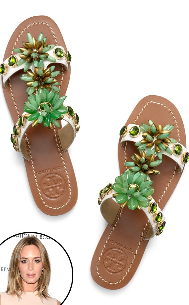 0a664b392992 Tory Burch Sydney Flat Sandals from Mother s Day Gift Guide 2014
