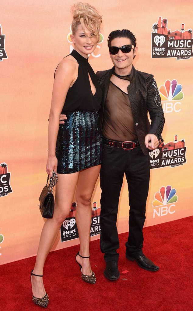 Corey Feldman, Courtney Anne, iHeartRadio Music Awards