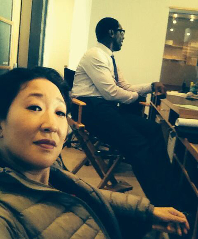 Sandra Oh Posts Pic With Isaiah Washington Ahead of Burke\'s Grey\'s ...