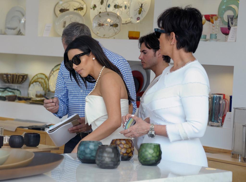 Kim Kardashian, Kris Jenner, Jonathan Cheban