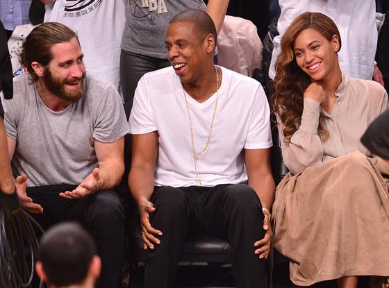 Jake Gyllenhaal, Jay-Z, Beyonce