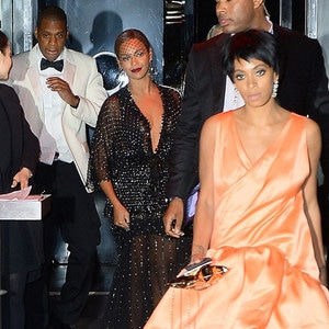 Beyonce, Jay-Z, Solange Knowles, Met Gala After Party