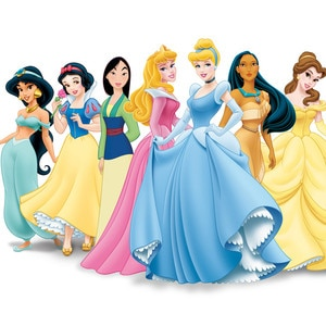 stunning Disney Princess Signature Colors Part - 4: E! Online