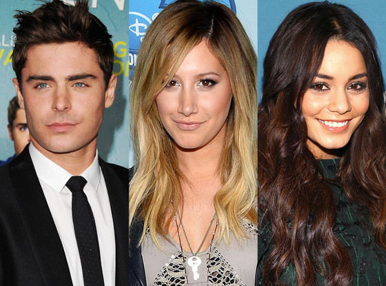 Zac Efron, Ashley Tisdale, Vanessa Hudgens