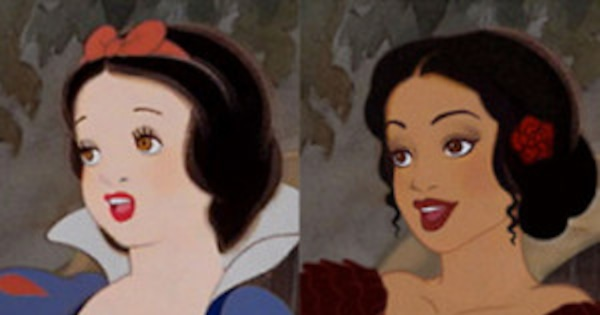 Check Out Disney Princesses Reimagined With Different -6420