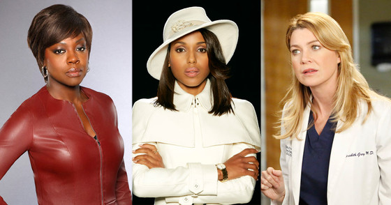 How to Get Away with Murder, Viola Davis, Grey's Anatomy, Ellen Pompeo, Scandal, Kerry Washington