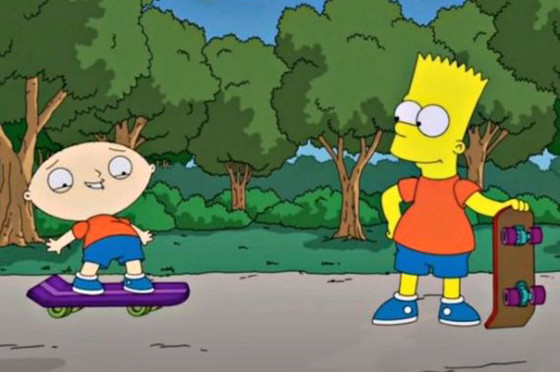 The Simpson, Stewie, Bart