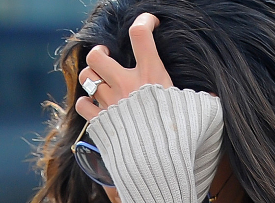 Amal Alamuddin Engagement Ring
