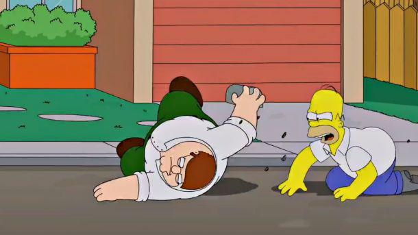 Family Guy, Simpsons