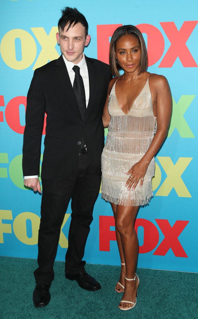 Robin Lord Taylor, Jada Pinkett Smith, Fox FanFront 2014