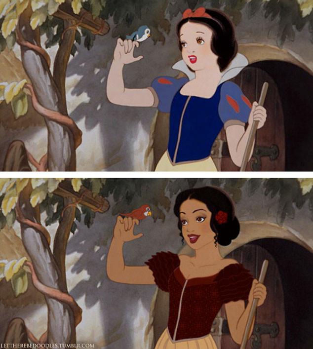 Racebent Disney