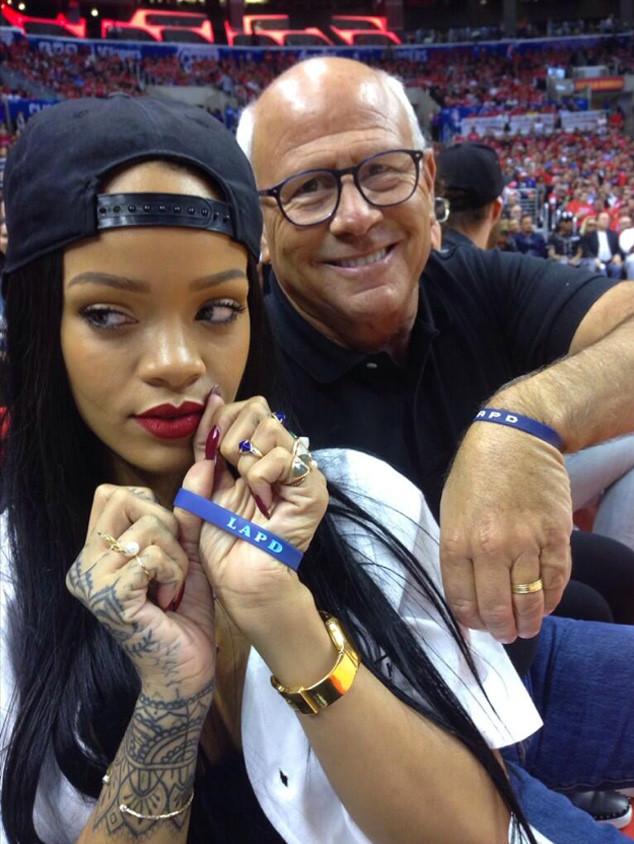 Rihanna, Steve Soboroff Twitter
