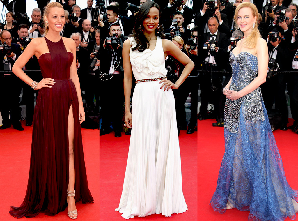 Blake Lively, Zoe Saldana, Nicole Kidman, Cannes