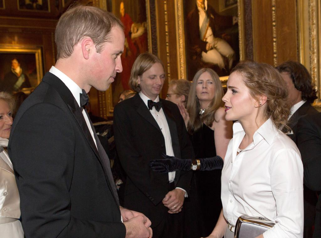 Emma Watson, Prince William, Duke of Cambridge