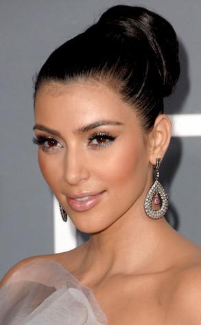 5 Predicciones Del Peinado Que Llevara Kim Kardashian En Su Boda