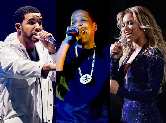 Jay-Z, Beyonce, Drake, BET Award Nominations