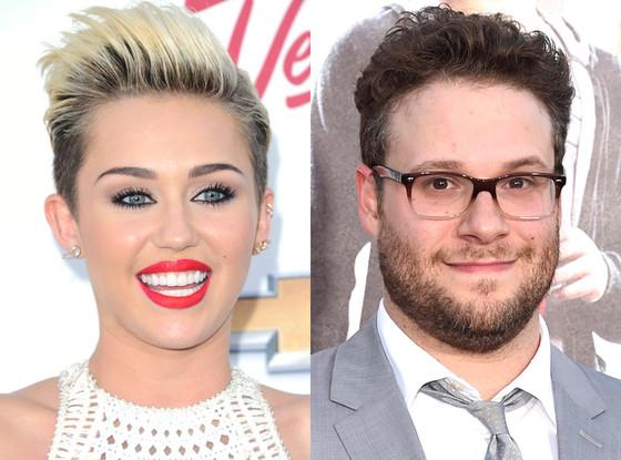 Miley Cyrus, Seth Rogen