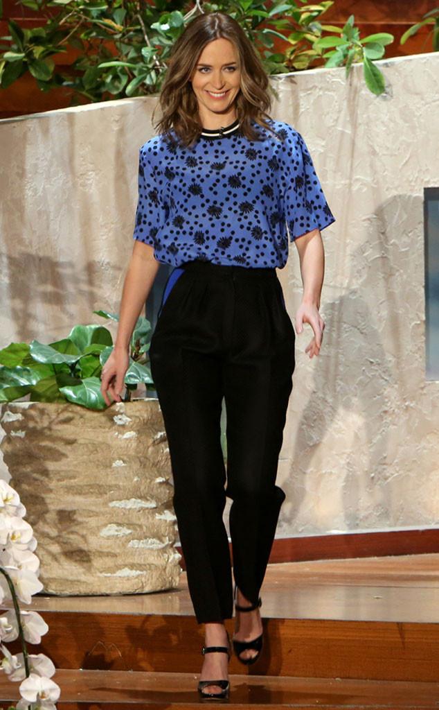 Emily Blunt, Ellen Show