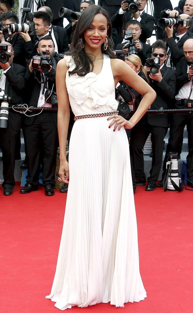 Zoe Saldana, Cannes