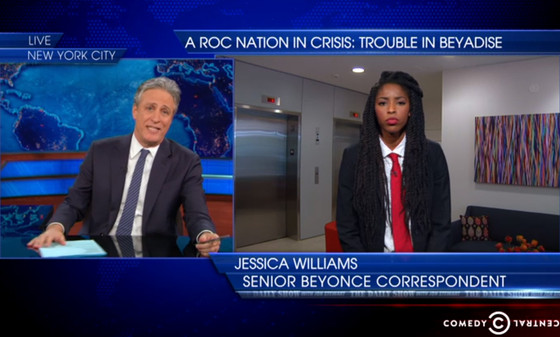 Jon Stewart, Jessica Williams, The Daily Show
