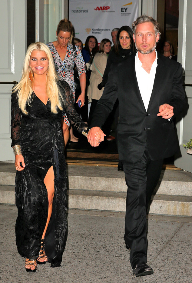 Jessica Simpson And Eric Johnson Celebrate Nuptials With